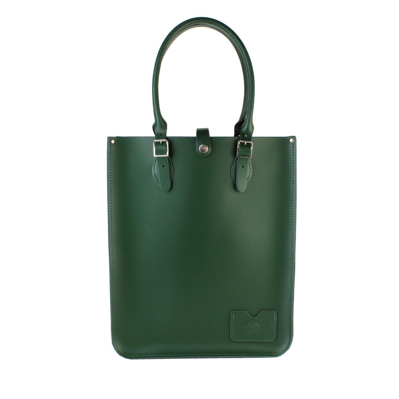 37489d5a0ad9 Large Tote Bag Racing Green — женская кожаная сумка, купить в Москве ...