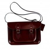 Сумка-сэтчел 11-inch Classic Satchel Patent Oxblood Red