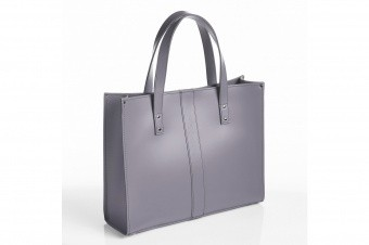 Высокая сумка Belvoir Lilac Grey