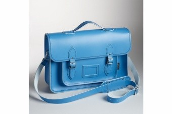 Портфель-рюкзак Stock Blue Satchel with Backpack Straps 16