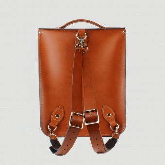 Сумка-рюкзак Portrait Leather Backpack London Tan