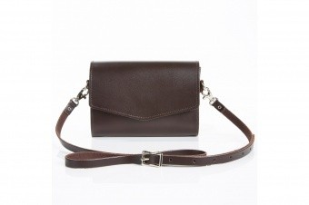 Клатч Dark Brown Micro Clutch