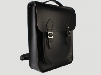 Сумка-рюкзак Portrait Leather Backpack Charcoal Black