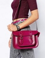 The Leather Satchel Company Boysenberry