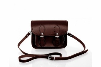 Сумочка Dark Brown Micro Satchel