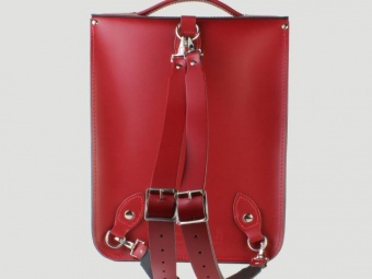 Сумка-рюкзак Portrait Leather Backpack Pillarbox Red