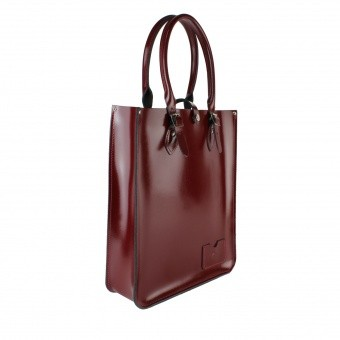 Высокая сумка Large Tote Bag Oxblood