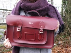 Cambridge Satchel Oxblood